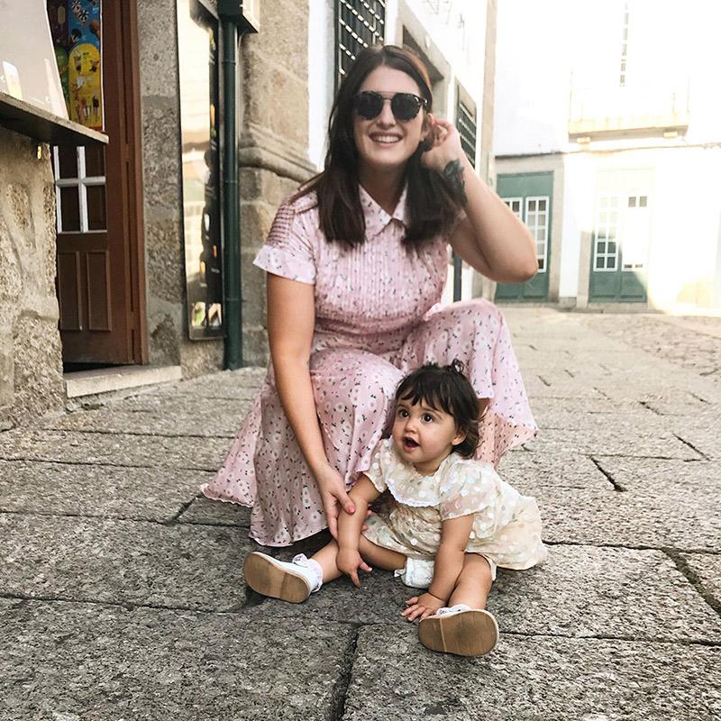maman et bébé fille