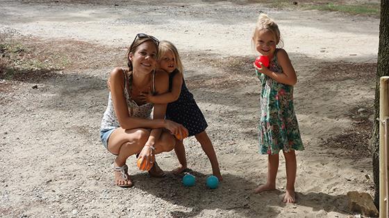 maman et petites filles